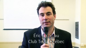Éric Rondeau (Club Tesla Québec)