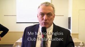 Mario Langlois (Club Tesla Québec)